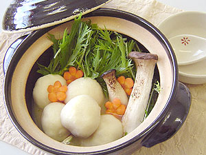 豆腐まんじゅう鍋