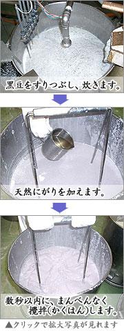 豆腐作りフロー