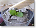 黒ごま豆乳アイス