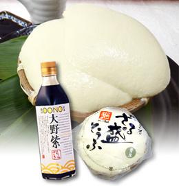 青豆ざる盛とうふ&金沢伝統醤油大野紫